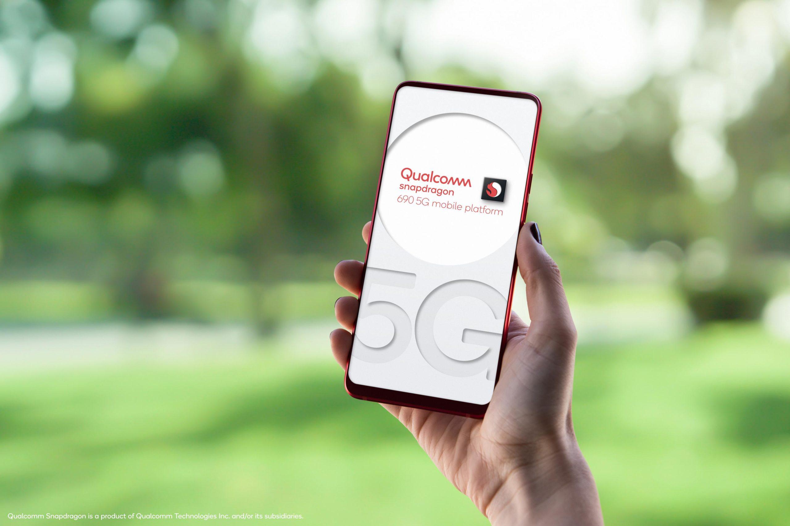 Qualcomm Snapdragon 690 5G Mobile Platformを発表、Snapdragon 6 Series初の5G通信対応製品