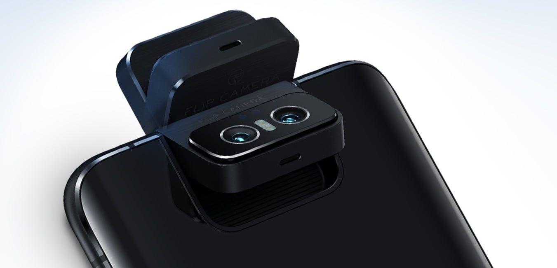 ASUS ZenFone 7(ZS670KS)はフリップカメラ継続、メインカメラは6400万画素