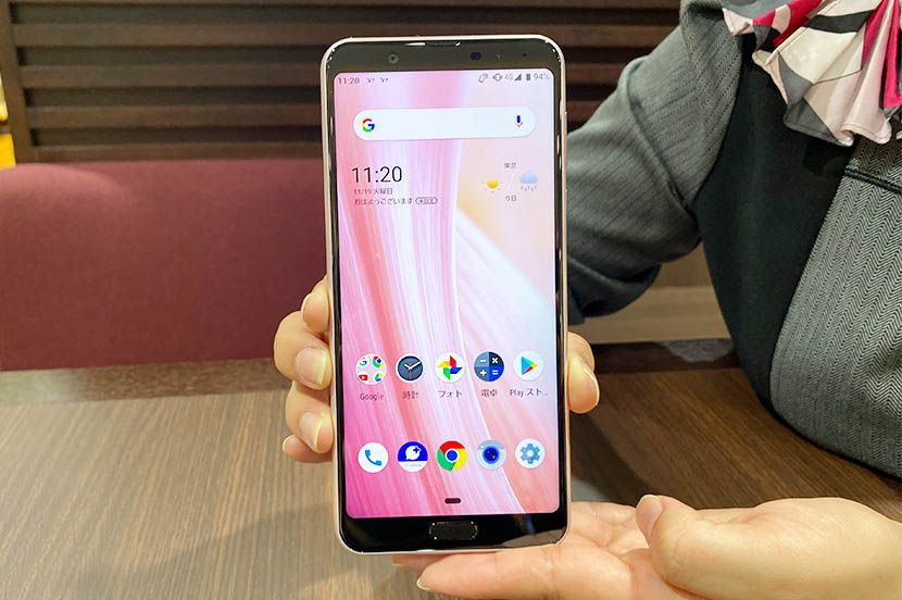 SHARP製未発表スマートフォンSHARP W-115はSnapdragon 765 5Gを搭載、日本市場初のSnapdragon 765 5G搭載機か