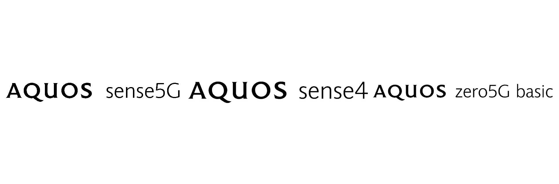 SHARPがAQUOS sense 4シリーズやAQUOS sense5G、AQUOS zero5Gの商標を出願