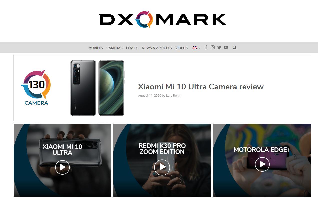 DxOMarkがカメラの評価基準の変更を告知、新基準での最初の製品は10月に発表