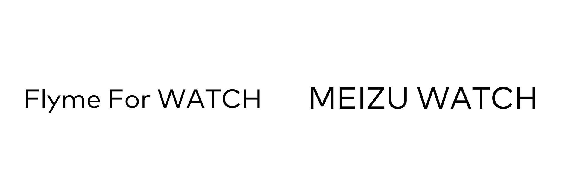 Meizuが「Flyme For WATCH」と「MEIZU WATCH」の商標を出願