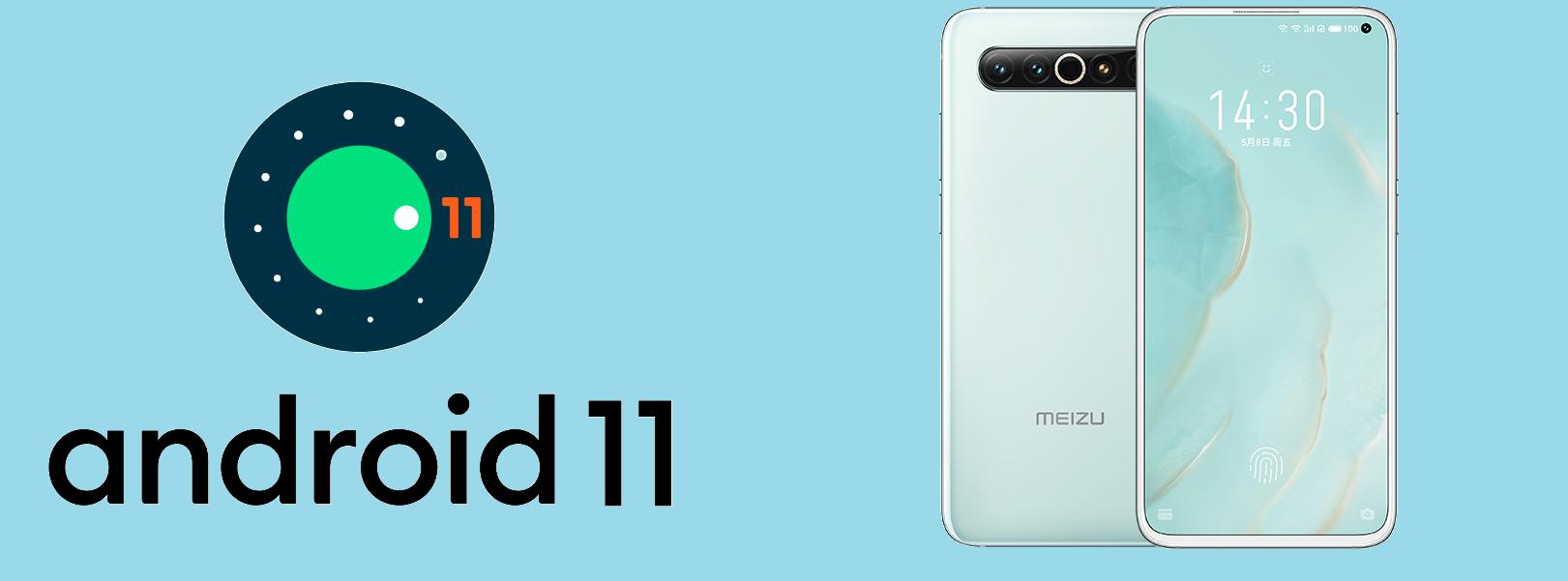 Meizu 17とMeizu 17 Pro用Android 11ベースFlyme OS Beta 7が配信