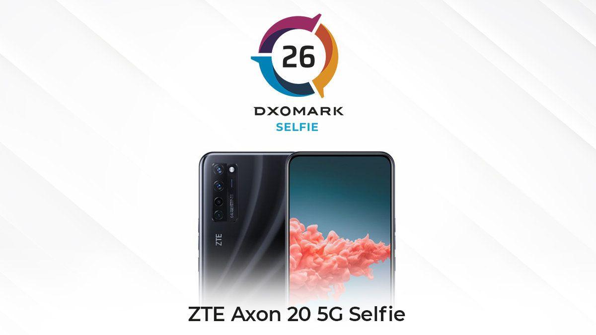 世界初の画面下カメラ採用ZTE Axon 20 5G、DxOMark Selfieにて26点を記録