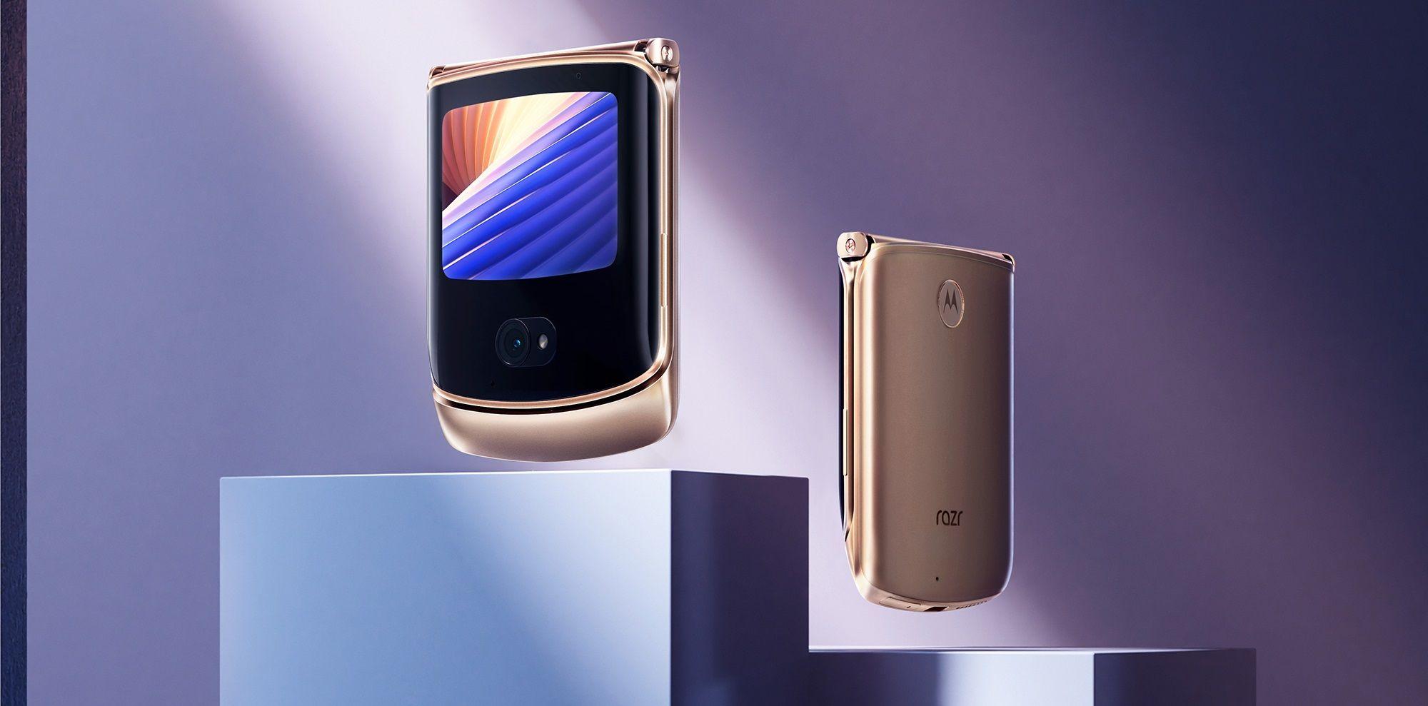 +Styleでmotorola razr 5Gを3月19日より予約開始、限定カラー「Blush Gold」を取り扱い