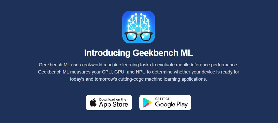 機械学習性能を計測するGeekbench MLが公開、クロスプラットフォーム間の比較可能