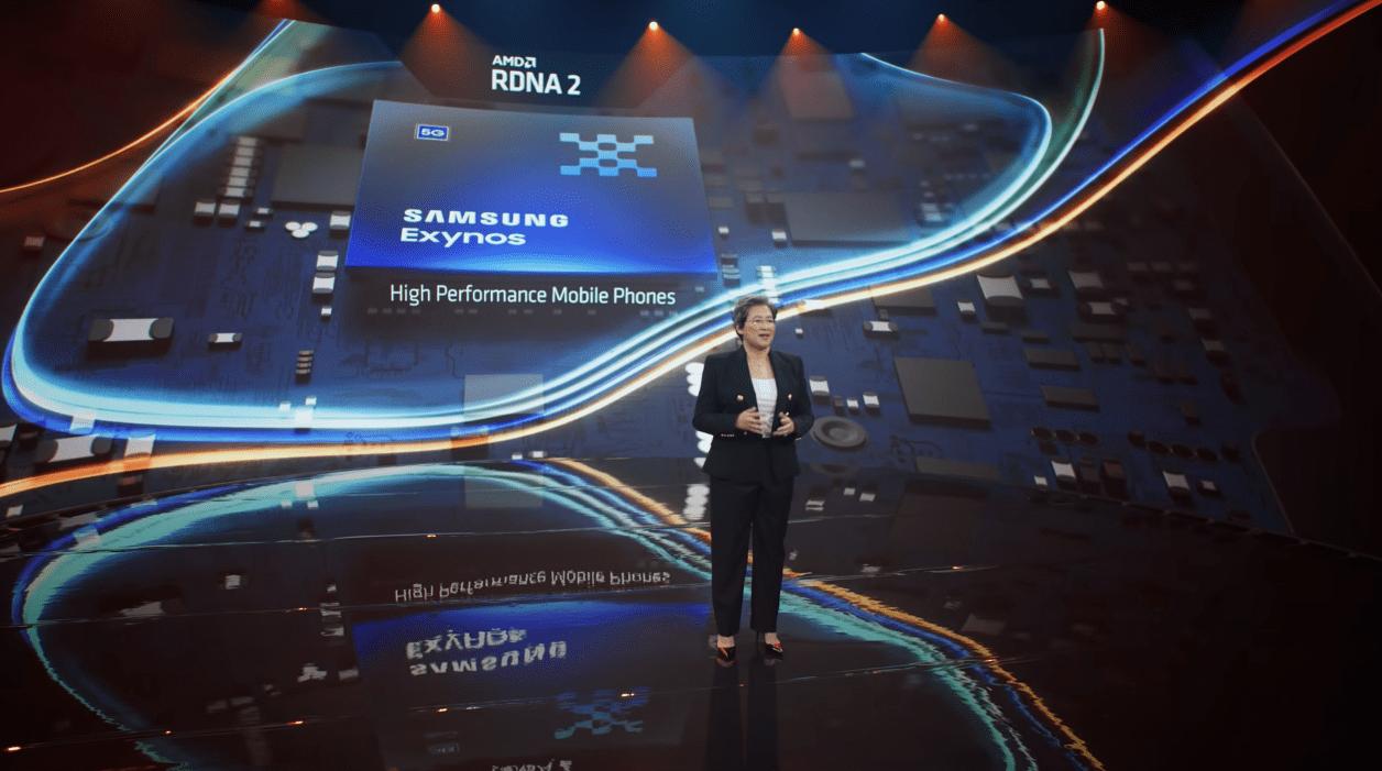Samsung、AMD mRDNA 2 GPUを4つのサンプルでテスト中
