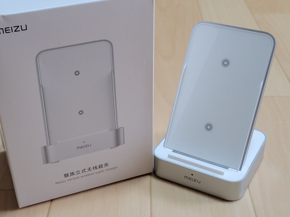 Meizu vertical wireless super charger Impression - Wireless Charger Stand for MEIZU